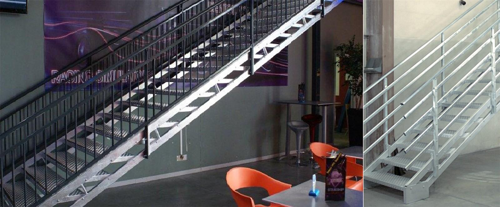 Fabricant D Escaliers Industriels M Talliques Sur Mesure