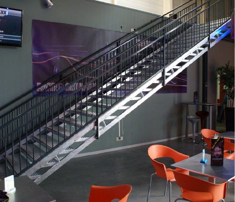 Escalier pour erp pmr et tablissements scolaires - Norme main courante escalier ...