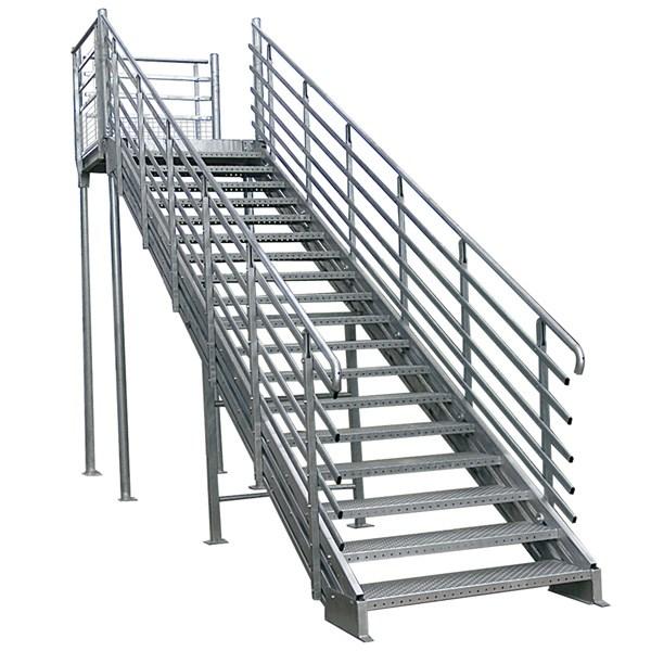 Garde corps m tallique pour escaliers rampes et palliers - Garde corp metallique ...